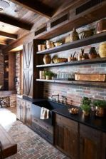 Amazing Brick Floor Kitchen Design Inspirations 15