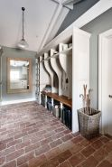 Amazing Brick Floor Kitchen Design Inspirations 26
