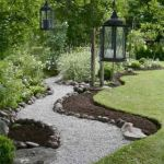 Front Yard and Garden Walkway Landscaping Inspirations 22