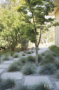 Front Yard and Garden Walkway Landscaping Inspirations 37