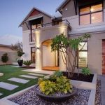 Modern and Contemporary Front Yard Landscaping Ideas 12