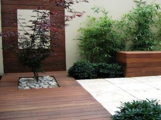 Modern and Contemporary Front Yard Landscaping Ideas 21