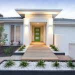 Modern and Contemporary Front Yard Landscaping Ideas 31