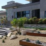 Modern and Contemporary Front Yard Landscaping Ideas 48