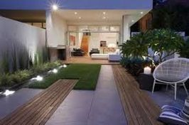 Modern and Contemporary Front Yard Landscaping Ideas 75