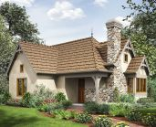 Wonderful European Cottage Exterior Design 117