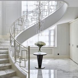40 Awesome Modern Stairs Railing Design For Your Home Rockindeco