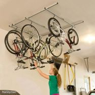 90 Brilliant Ideas to Make Hanging Bike Storage 20