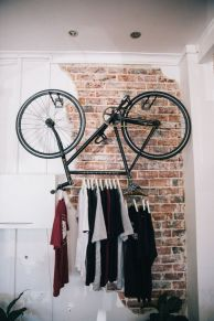 90 Brilliant Ideas to Make Hanging Bike Storage 9