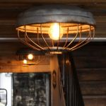 Breathtaking Rustic Ceiling Light Design 10