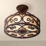 Breathtaking Rustic Ceiling Light Design 36