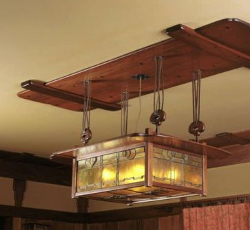 Breathtaking Rustic Ceiling Light Design 50