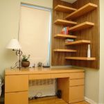 Corner Wall Shelves Design Ideas for Living Room 29