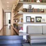 Corner Wall Shelves Design Ideas for Living Room 49