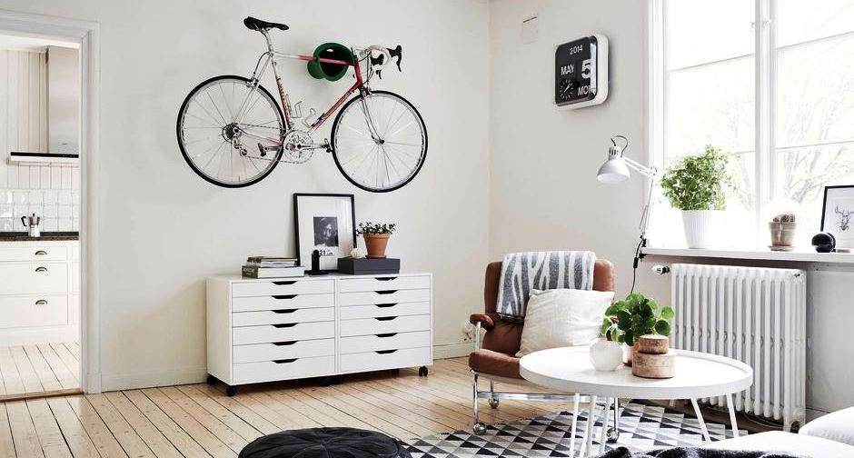 Hanging Bike Rack and Storage Ideas