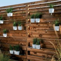 Stunning Creative Fence Ideas for Your Home Yard 43