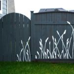 Stunning Creative Fence Ideas for Your Home Yard 6