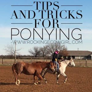 Tips and Tricks for Ponying