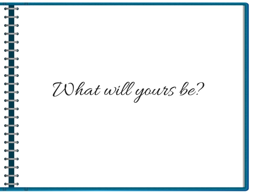 What will yours be_ copy