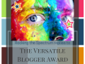 The Versatile Blogger Award – Opening Up