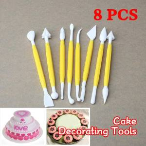 Cake decorating tools (8 pieces)