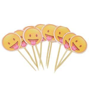 Emoji Cupcake Toppers (Pack of 10)