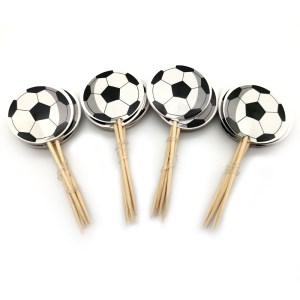 Football Cupcake Toppers (Pack of 24)