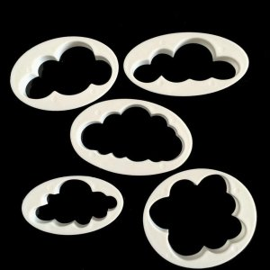 Clouds Cookie Cutters Set (5 pieces)