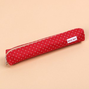 Red/Dots Pencil Case