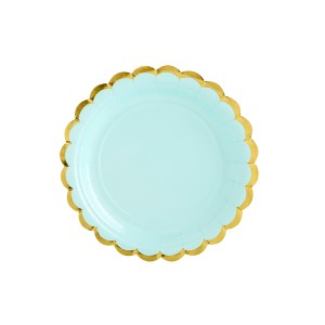 Mint Chic Plates 18 cm (6 pieces)