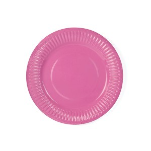 Hot Pink Plate 18 cm (6 Pieces)