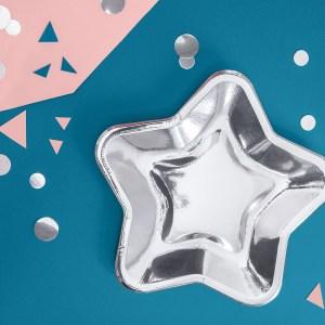 Star Plates 23 cm (6 pieces)