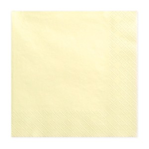 Yellow Chic Napkins (Pack of 20)