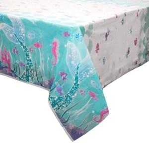 Magical Mermaid Tablecover (1.37m x 2.13m)