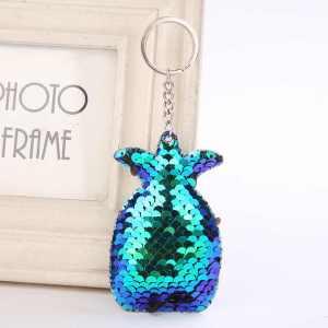 Sequin Pineapple Keychain
