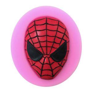 Spiderman head mold