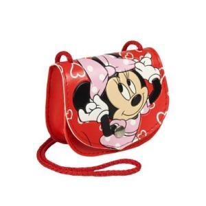 RED Handbag Shoulder Strap Minnie Mouse