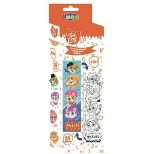 COLORING TOWER PUZZLE double sided– 44CATS