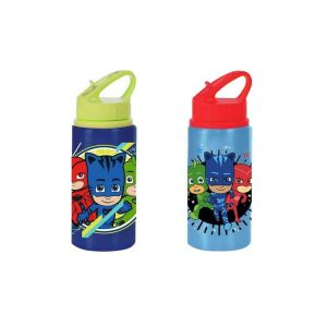 PJ Masks Metallic Bottle with straw BPA FREE 500ml