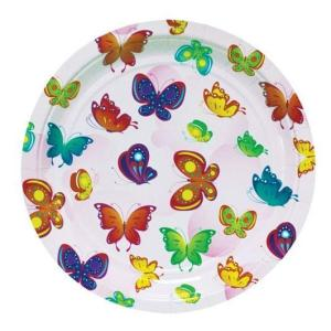 Happy Butterflies Plates 23cm (6 pieces)
