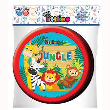 Jungle Animals Plates 23cm (6 pieces)