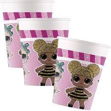 L.O.L. Surprise Cups 200ml (8 pieces)