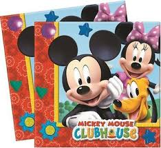 Mickey Mouse Clubhouse Napkins (Pack of 20)