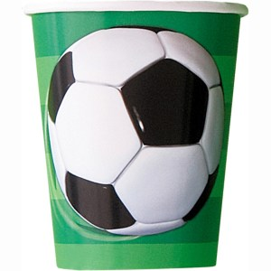 Soccer Cups (8 pieces)