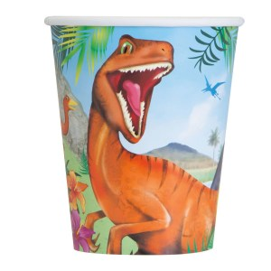 Dinosaurs Cups (8 pieces)