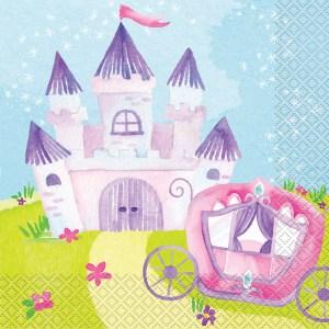 Magical Princess Napkins (pack of 16 )