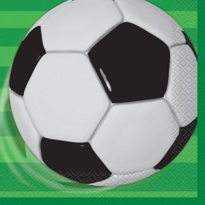 Soccer Napkins (pack of 16)