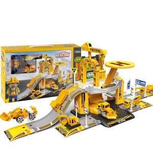 LUNA DIY Construction 44 pieces Site PARKING LOT 39x7.5x25cm