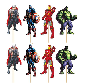 Avengers Cupcake Toppers (pack of 24)