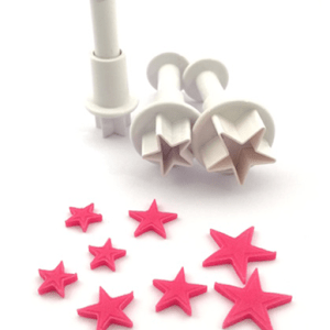 Stars Plunger set of 3